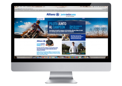 Web Allianz Junior Motor Camp