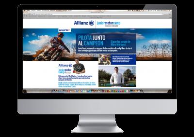Web Allianz Junior Motor Camp
